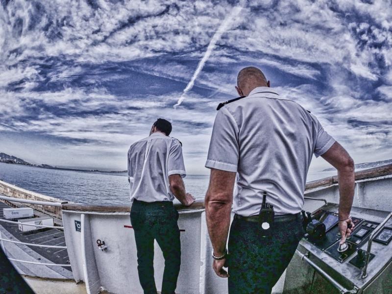 Accostage du ferry © Vincent BACCELLI