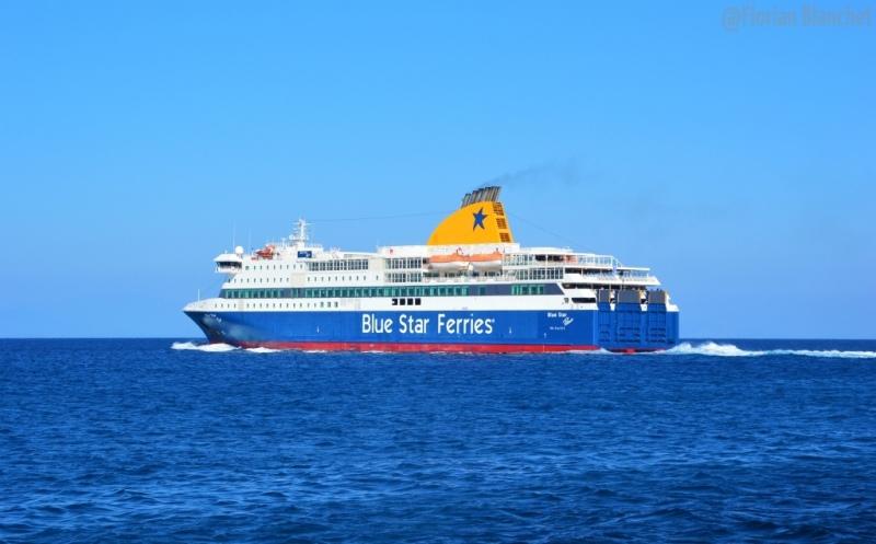 Blue Star Patmos à Rhodes
