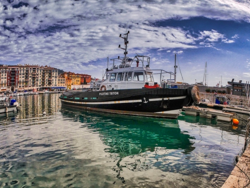 Pilotine Port de Nice