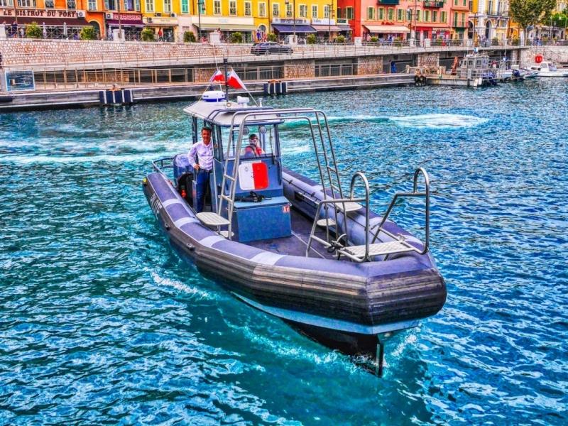 Pilotine rapide port de Nice
