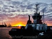 Vues dans le port du Havre © Alice PAVIOT Capitaine Boluda Le Havre
