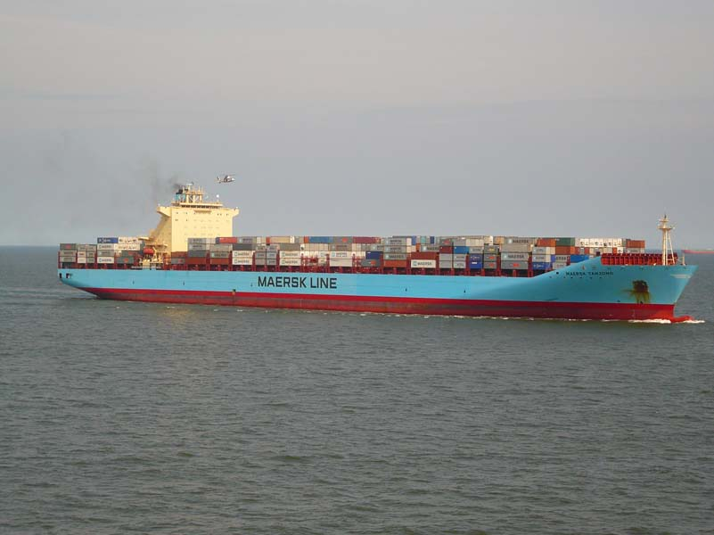 Maersk Tanjong prise de pilote Le Havre
