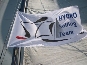Hydro sailing pavillon
