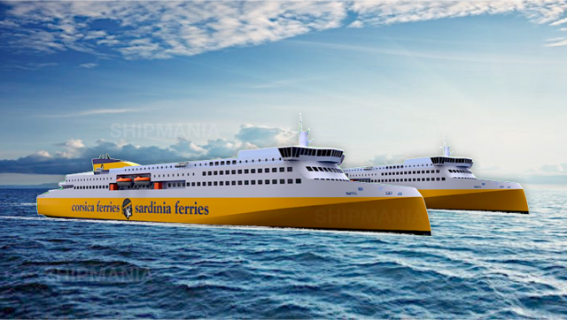 corsica sardinia ferries nouveaux navires
